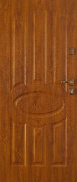 Gerda TT - aranytölgy kültéri biztonsági ajtó