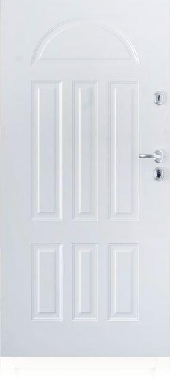 Gerda TT - fehér kültéri biztonsági ajtó